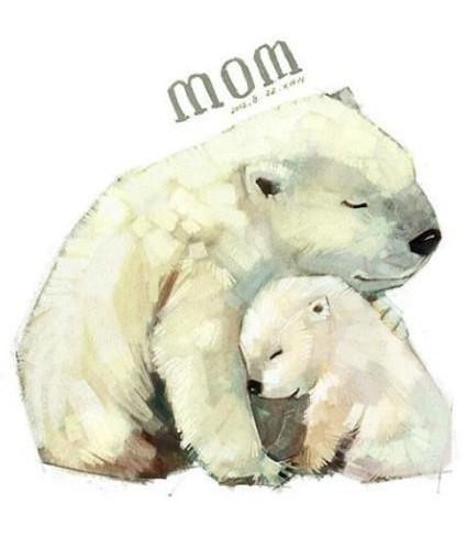 雪小动物超萌简笔画图片