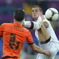 欧洲杯,丹麦1比0荷兰