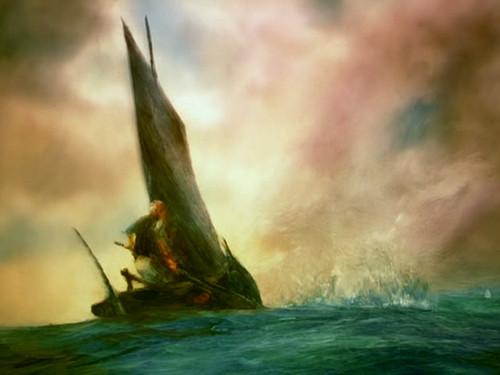 老人与海油画版_几句话之《老人与海》 - 《老人与海 》影评- Mtime时光网