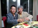 与杨新敏教授共享阳澄湖大闸蟹