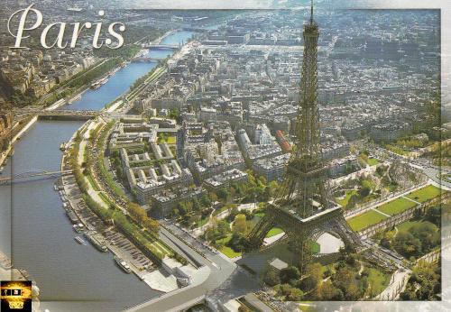 法国巴黎埃菲尔铁塔02